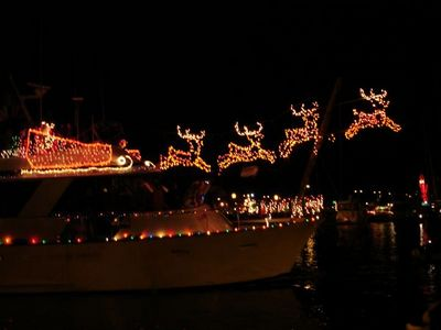 Christmas Boat Decorations.Lighted Boat Parades Shows Mid Atlantic
