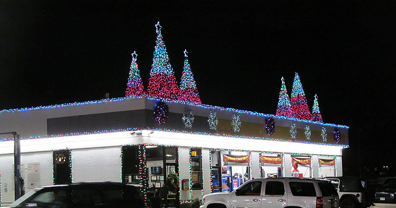 Christmas Lights To Music.Honorable Mention Details